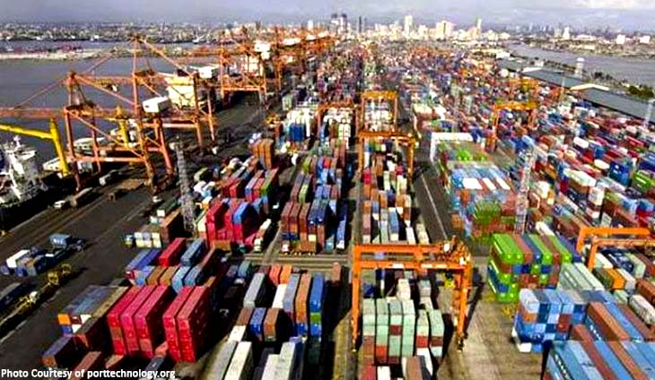 BILYONARYYO PORT CONTAINERS TRAFFIC PHILIPPINES