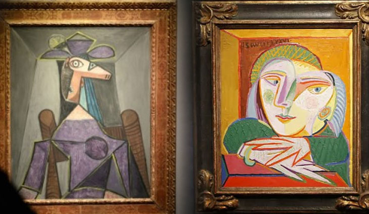 Picasso's hidden mistress set to fetch millions at sale ...