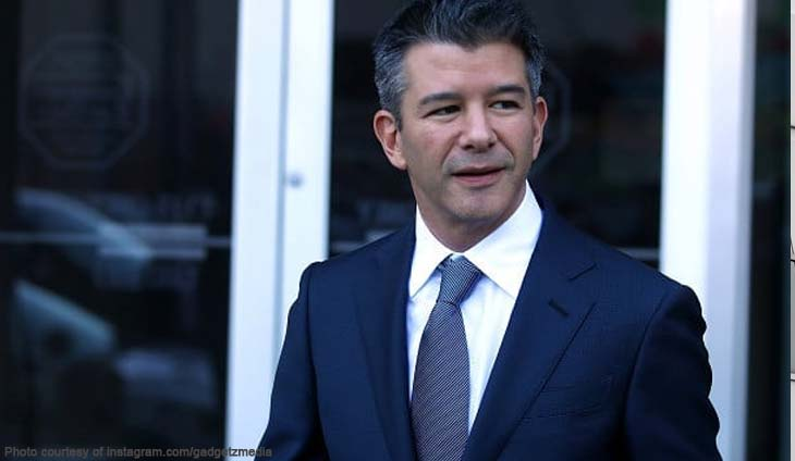 Uber co-founder and ousted chief Travis Kalanick