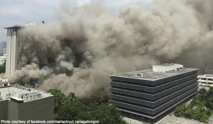 Waterfront Manila Pavilion, Philippine hotel fire