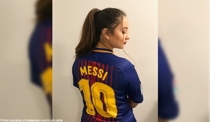 newest 84fb0 ff29f Missy Elizalde is Miss Messi : Bilyonaryo