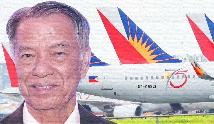 Lucio Tan flight attendants and stewards of Philippine Airlines (PAL)