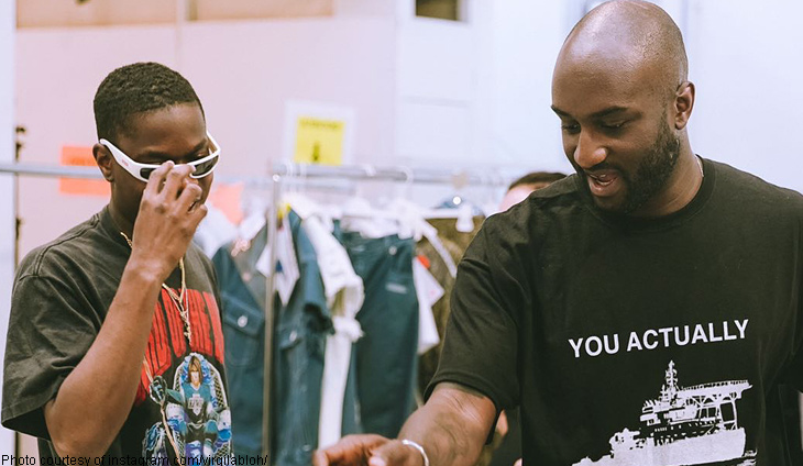 a5f2ef40a232 From Off White to LV  Paris fashion star Abloh reaches out to Kanye West