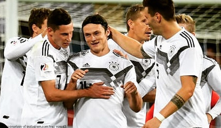 brand new 71511 7a032 Adidas extends Germany football sponsorship to 2026