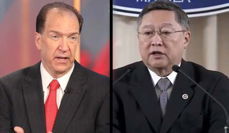 Malpass takes Dominguez's advice, says 'coordinated outlook' with ADB in the works