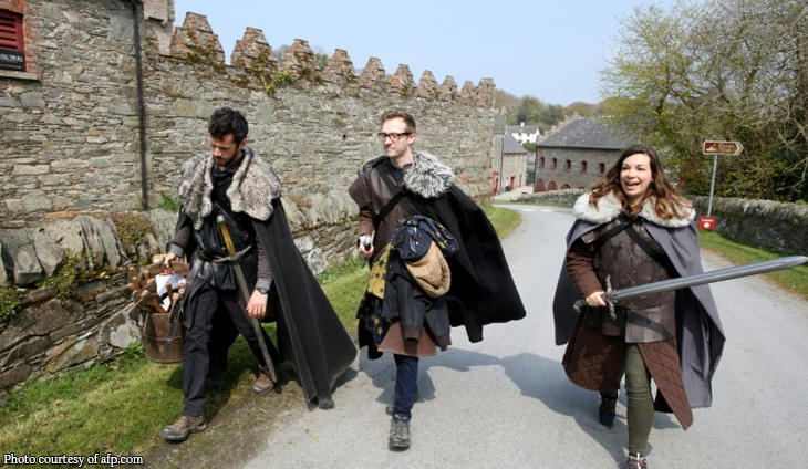 Tourists follow 'Game of Thrones' trail in Northern Ireland
