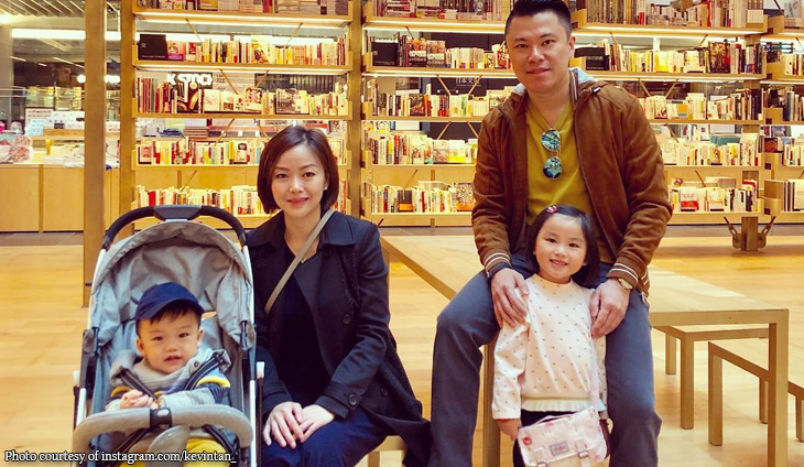 Kevin Tan brings fambam to Japan