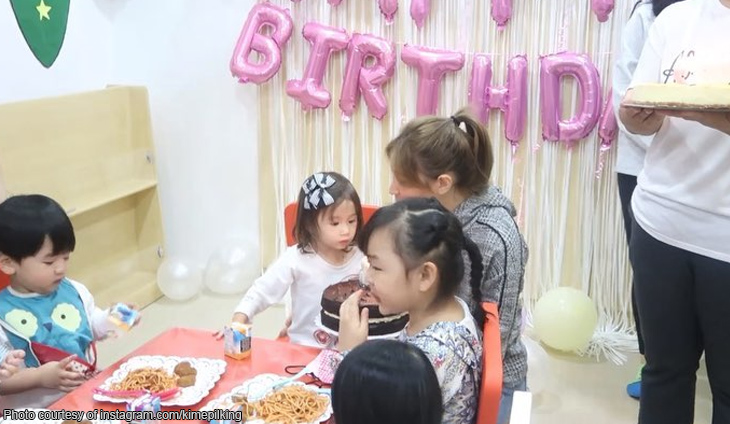 Kimberly Epil throws advanced birthday party for daughter Amara