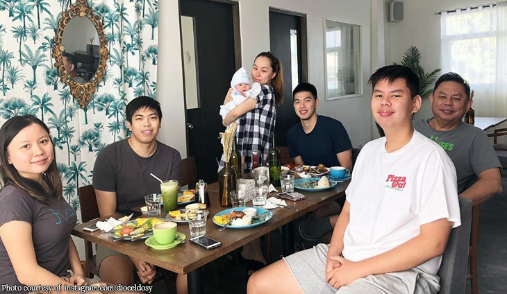 Dioceldo Sy excited about first breakfast date with grandson