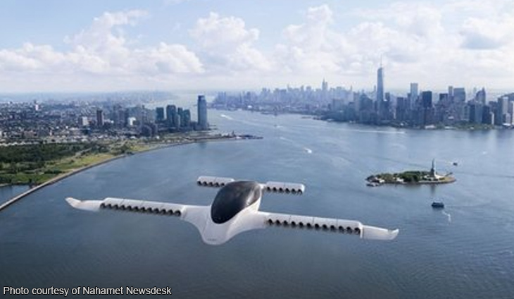 Startup to offer electric, pilotless air taxis 'by 2025'