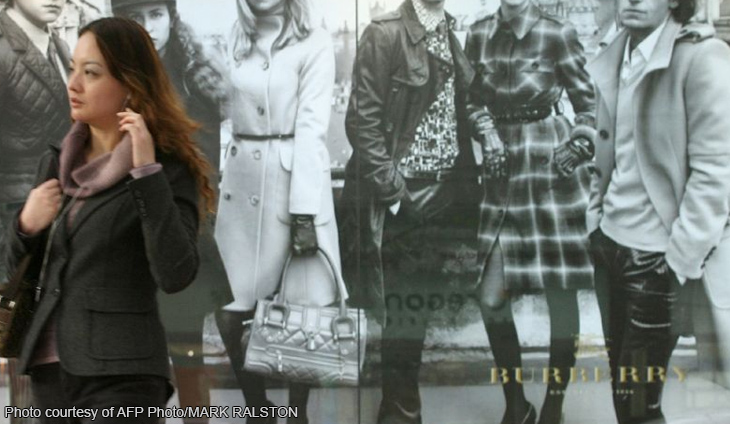Burberry fashions rising profit despite sluggish sales