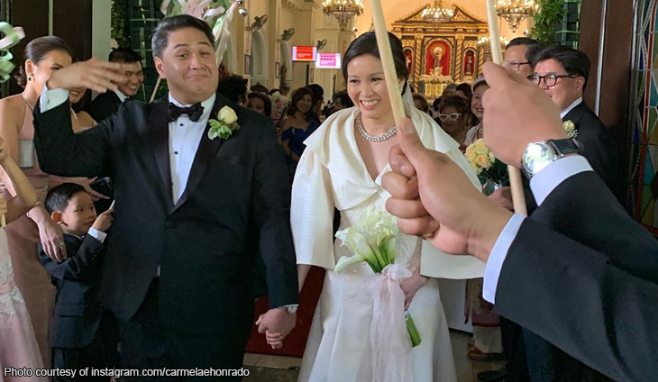 Catherine Tantoco Huang marries orthopedic surgeon David Endriga
