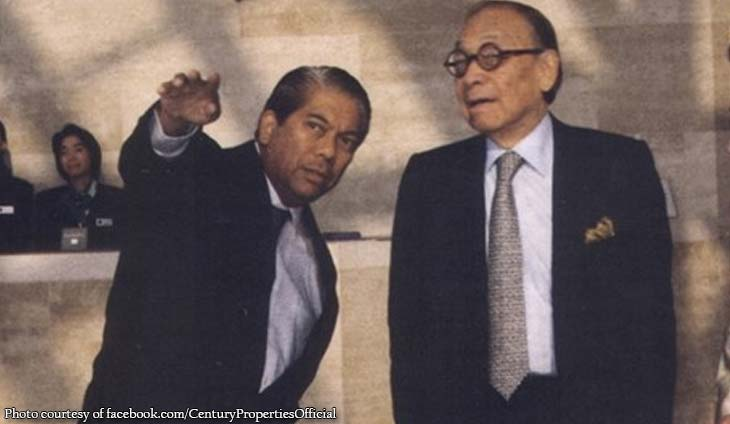 Antonio family mourns death of American architect I.M. Pei