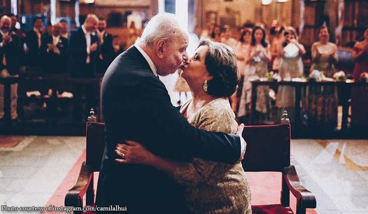 Camille Lhuillier posts sweet tribute to parents on their 51st wedding anniversary