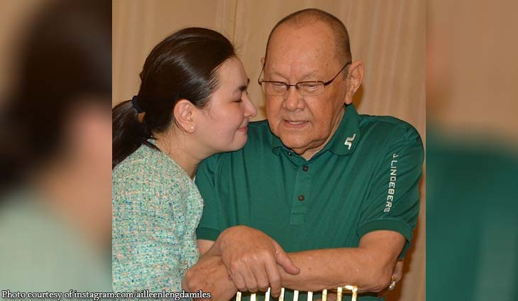 Close friends and family gather for Danding Cojuangco's birthday