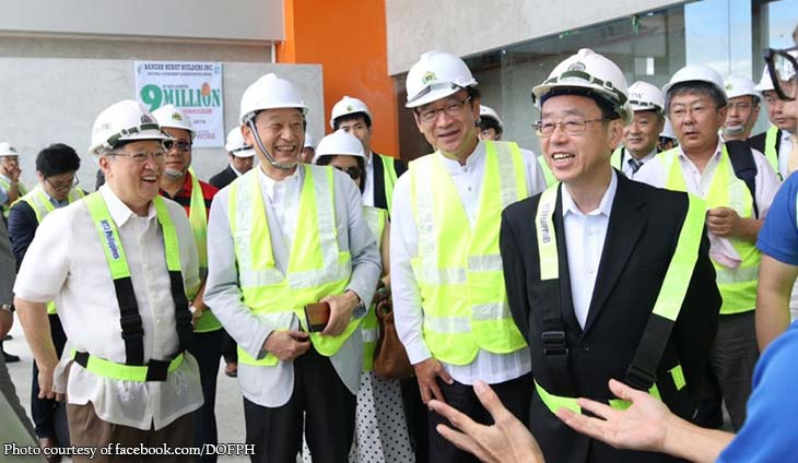 Dominguez shows off New Clark City to Japanese investors