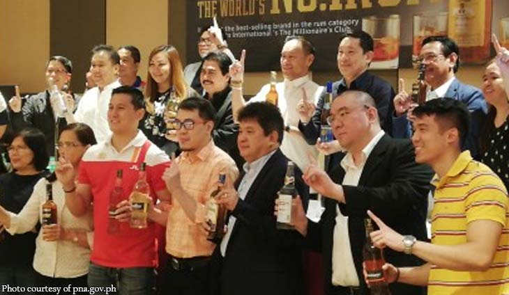 Lucio Tan's Tanduay is world's best rum for 2 straight years