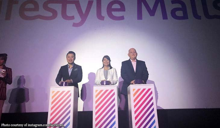 Kevin Tan unveils 'inclusive' logo for Megaworld Lifestyle Malls