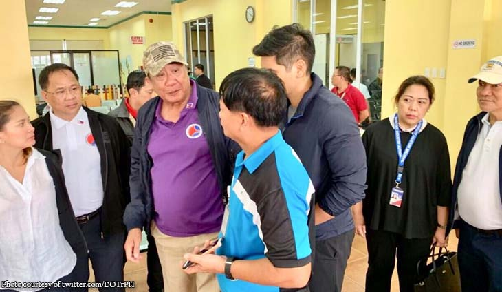 Tugade inspects Guimaras port after sea tragedy