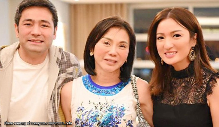 Vicki Belo steps out for dinner without makeup