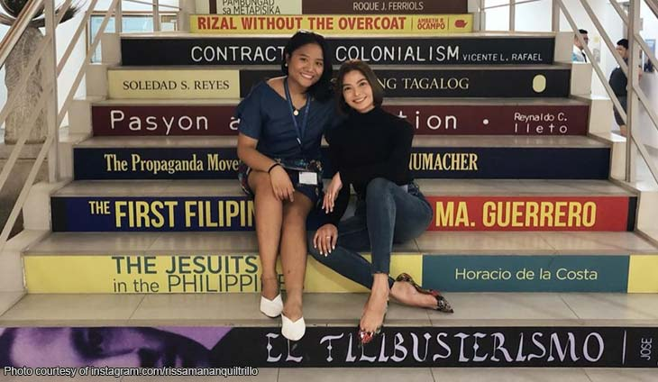Rissa Mananquil-Trillo proudly shares her scholar's achievements Inbox x